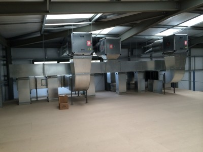 extraction canopy, designatech, birmingham steel fabrication, stainless steel canopy, stainless steel catering products,